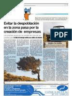 Evitar la despoblación en Tierra de Campos pasa por la creación de empresas