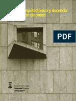 PROYECTO ARQUITECTONICO Y DOCENCIA UNA CUESTION DE ORDEN - CARLOS LABARTA.pdf