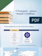 génese do Português