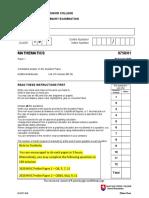 2020 NYJC H2 Math Prelim Paper 1 Questions