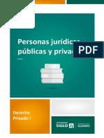 Persona jurídica pública y privada