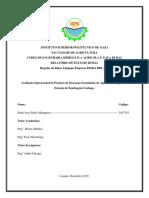 """Relatorio de Estagio """"Avaliação Operacional do Projecto de Descarga Secundaria de Água de Drenagem na Estação de Bombagem Umbape""""."""