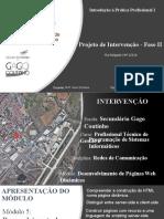 Projeto de Intervenção - Fase II- apresentaçãoFinal