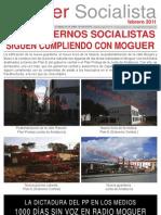 Moguer Socialistas Febrero 2011
