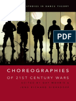 (Oxford studies in dance theory) Giersdorf, Jens Richard_ Morris, Gay - Choreographies of 21st century wars-Oxford University Press (2016)