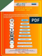 Apex Journals Price List 2021