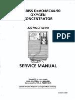 Devilbiss MC44 - Service manual