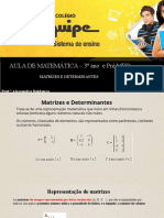 Matrizs e Determinantes