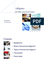 Due Diligence Report Sample Due Diligence Banks