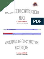 Materiaux de construction 1-Chap1
