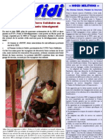 Infosidi n°20 - La SIDI et le CCFD-Terre Solidaire au Maroc