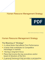 MBAO 6030 Human Resource Management Strategy