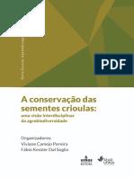 A conservação das sementes crioulas