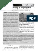010-El factor de impacto de las revistas científicas - limitaciones e indicadores alternativos