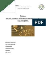 Système monétaire international et endettement des pays émergents.docx