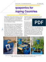 Aquaponics for Developing Countries