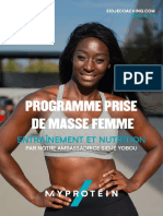 My protein fitness pour femme