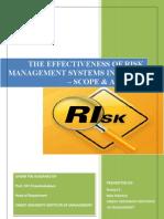 Dissertation Main - Risk Management in Banks