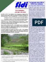 Infosidi n°21 - SIDI et CCFD-Terre Solidaire