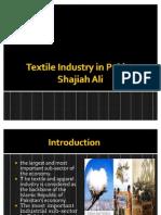 pk textile industry