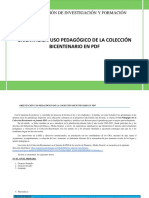 ORIENTACIÓN uso pedagógico de la COLECCIÓN BICENTENARIO EN PDF