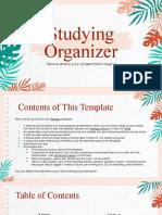 Studying Organizer by Slidesgo .pptx