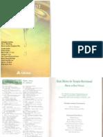 Guia Básico de Terapia Nutricional - Manual de Boas Práticas