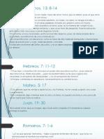 Alianzas (10 mandamientos) Parte IV