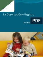 Observacion y registro