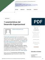 7 características del Desarrollo Organizacional _ LosRecursosHumanos.com