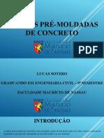 ESTACAS PRÉ-MOLDADAS DE CONCRETO