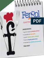 FERROL GASTRONÓMICO AÑO 2011 CASTELLANO