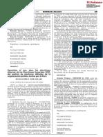 Resolución N° 0389-2020-JNE