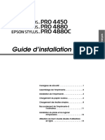 Stylus Pro 4450-4880-4880c Installation