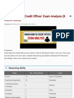 Indian Bank SO Credit Officer_ Exam Analysis (8 March 2020) - BankExamsToday