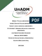 S3. Actividad 1. Naturaleza del proceso contencioso administrativo.docx