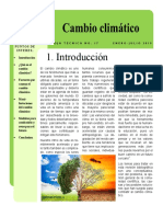 17. Cambio Climatico