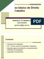 Direito Trabalhista - slides