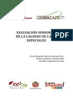 Evaluación sensorial de la calidad de cafés especiales