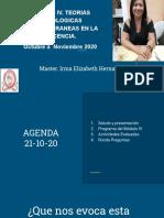 CLASE 21-10-2020 TEORIAS CONTEMPORAN