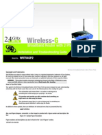 Linksys wireless broadband router