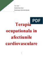 Terapia ocupationala in afectiunile cardiovasculare