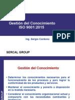 GESTION DEL CONOCIMIENTO ISO 9001 2015.pptx