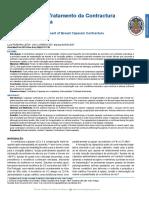 7. Etiopatogenia e Tratamento da Contractura