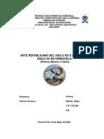 Arte y Patrimonio     ARTE REPUBLICANO SIGLO XIX  y XX