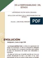 EVOLUCIÓN HISTORICA RESP DEL ESTADO UNIDAD TEM I y II DIAPOSITIVAS
