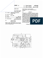 Very low input current JFET amplifier (US patent 4639683)