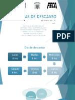 DIAS DE DESCANSO