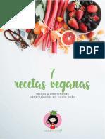 Ebook 7 recetas veganas - Veganeando.pdf