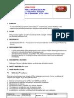 NutriFeeds-LAB-SOP-16 SOP Balance Verification